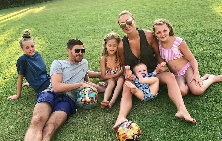 Steven Gerrard family
