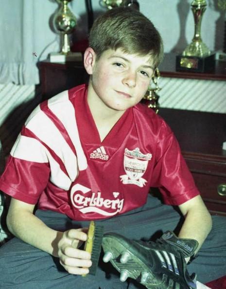 Steven Gerrard young