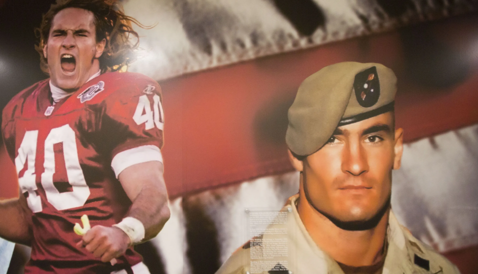 Pat Tillman, a famous footballer and army