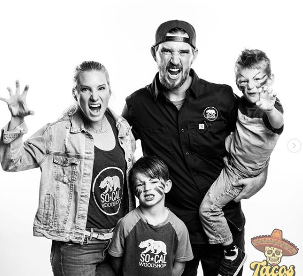 Heather Morris family