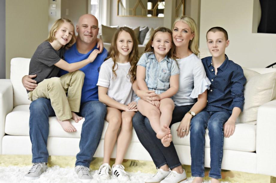 Bryan Baeumler family
