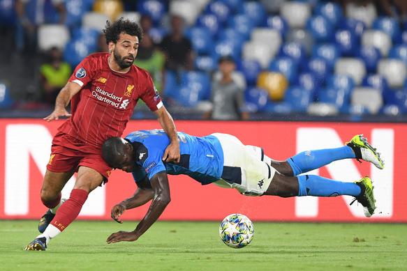 Kalidou Koulibaly against Salah
