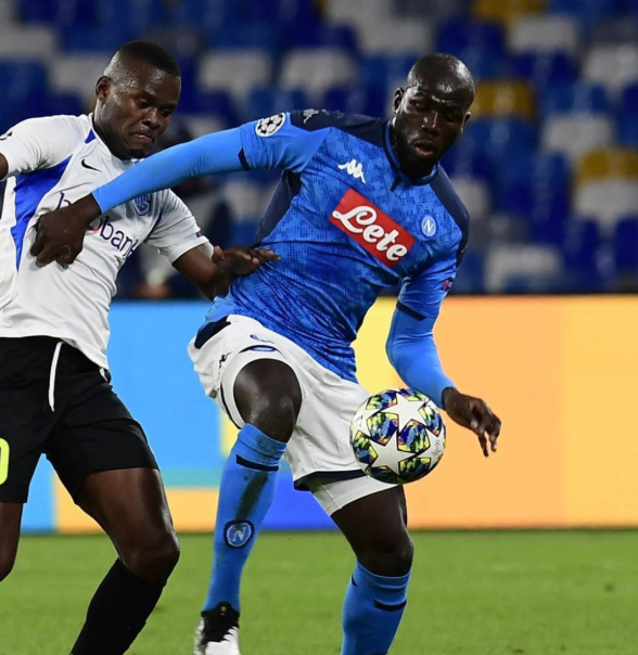 Kalidou Koulibaly against the opponent