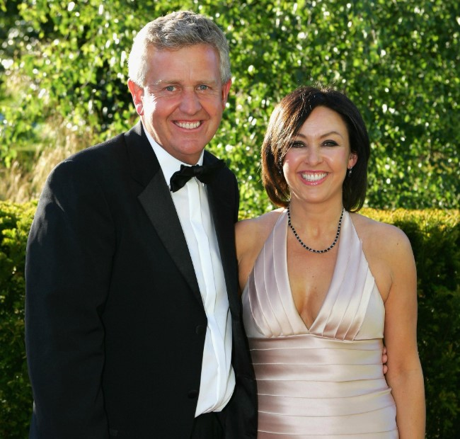 Colin Montgomerie married