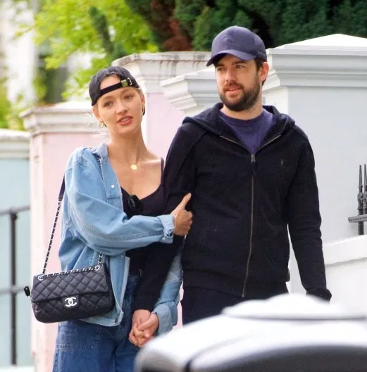 Roxy Horner With Her Boyfriend, JAck Whitehall