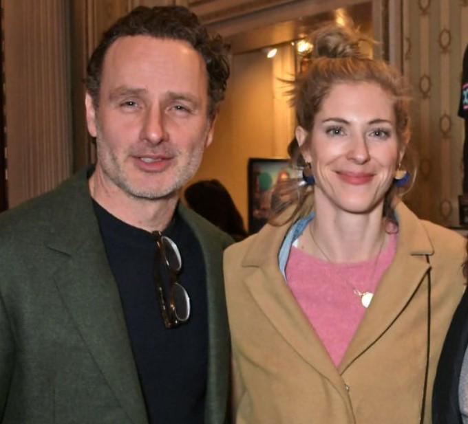 Andrew Lincoln wife