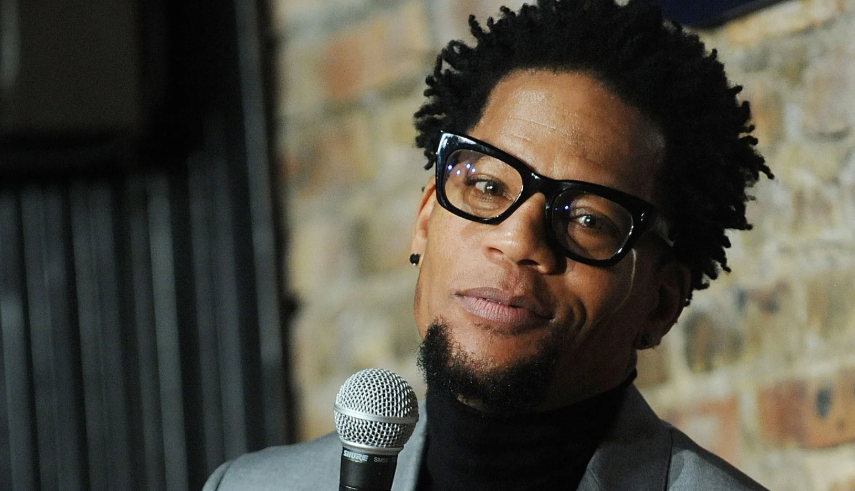 D. L. Hughley, a famous stand-up comedian