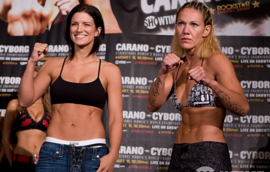 Gina Carano fight