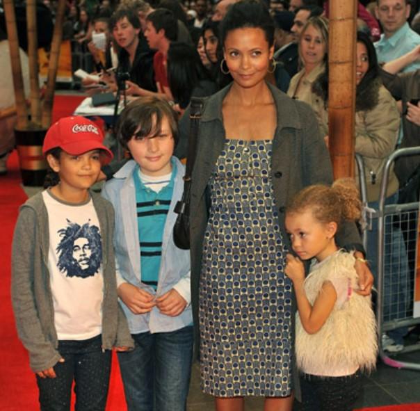 Thandie Newton kids