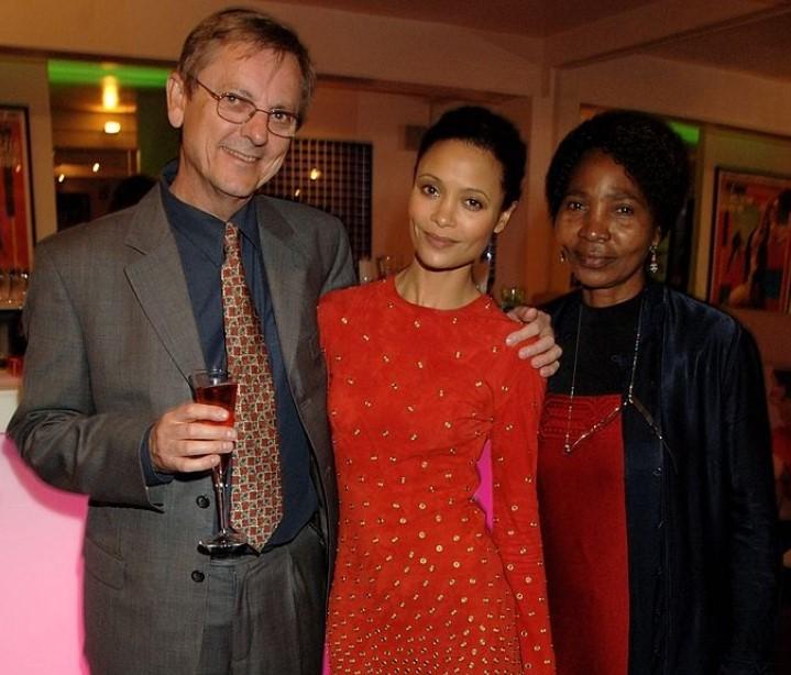 Thandie Newton parents