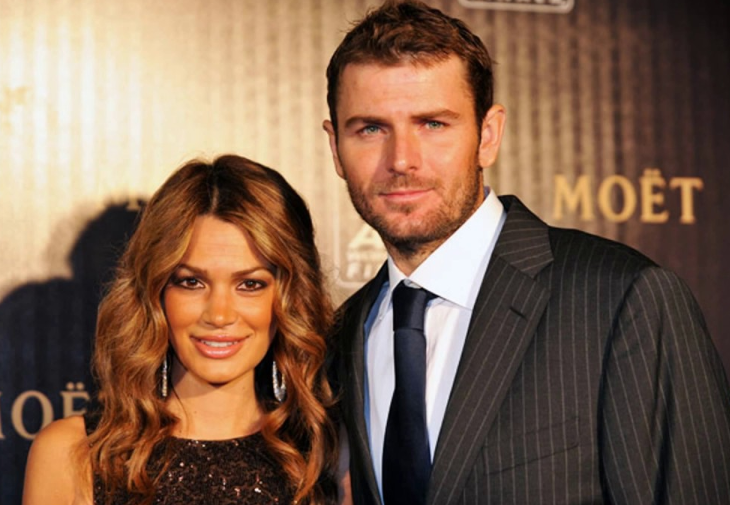 Mardy Fish with his wife Stacey Gardner