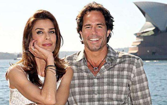 Kristian Alfonso with her husband, Danny Daggenhurst
