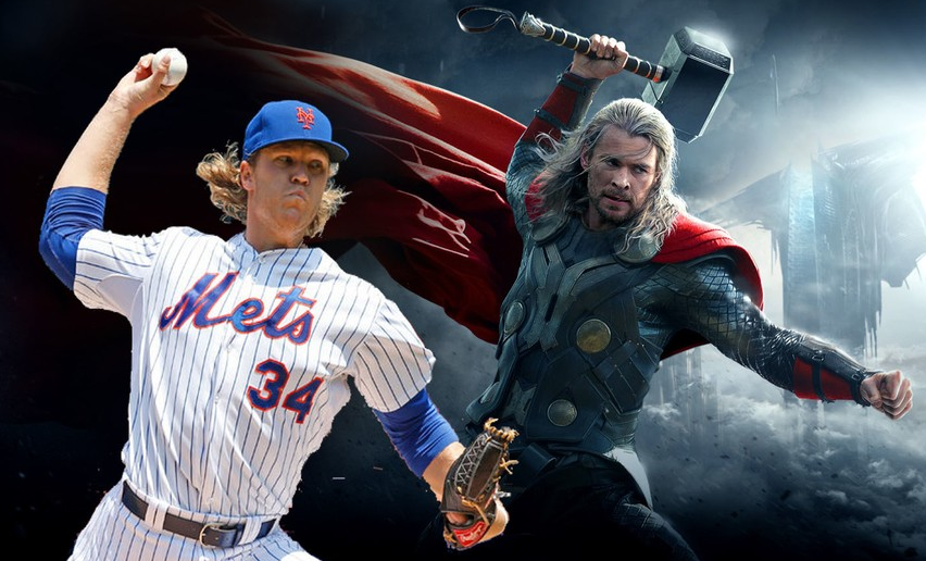 Noah Syndergaard, Nicknamed as Thor