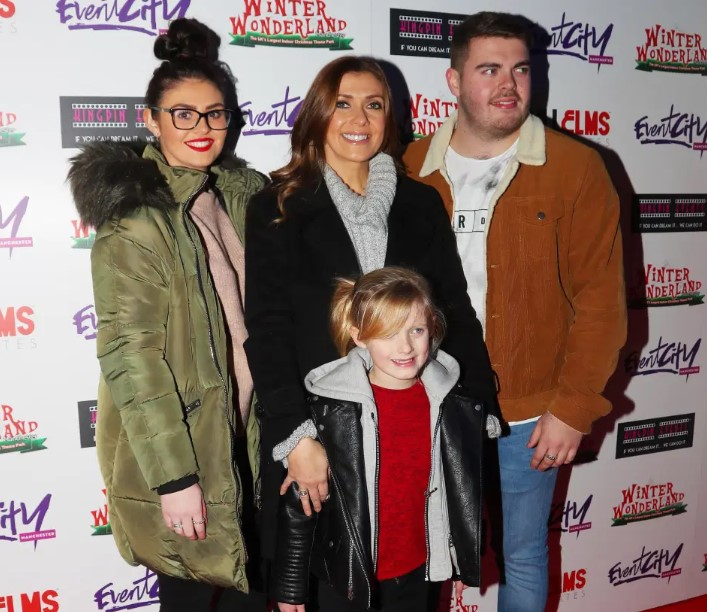 Kym Marsh kids