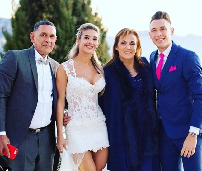 Lucas Ocampos family