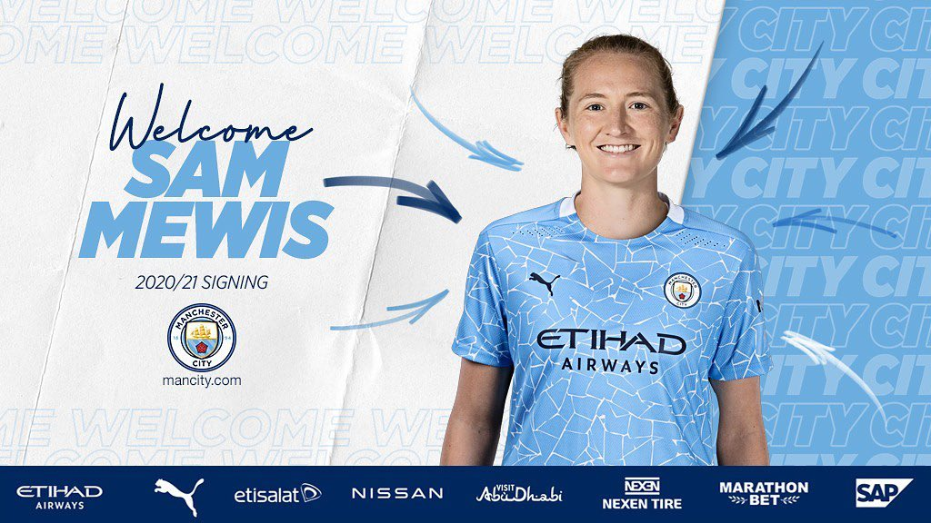 Sam Mewis joining Manchester City