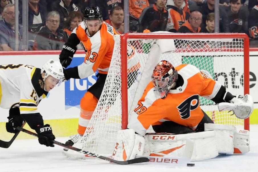 Carter Hart, Goaltender for Philadelphia Flyers