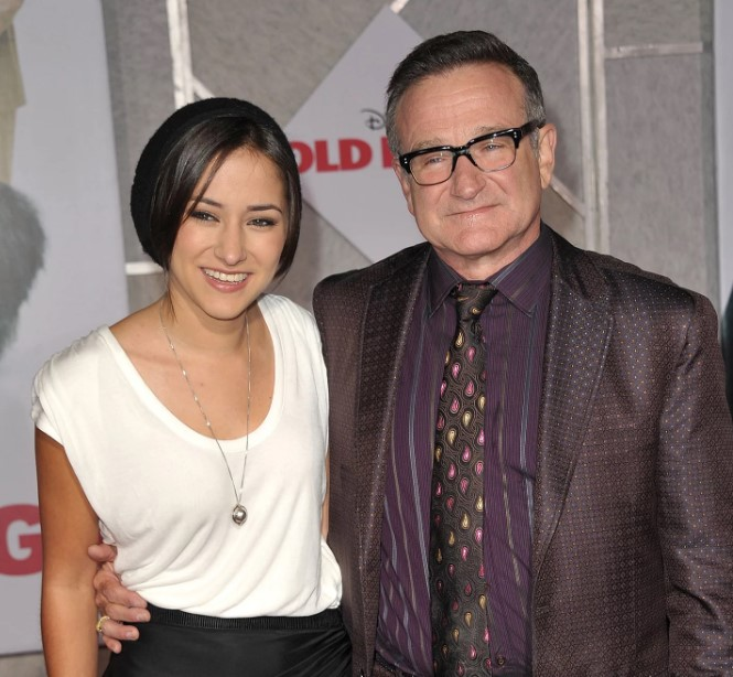 Zelda Williams father