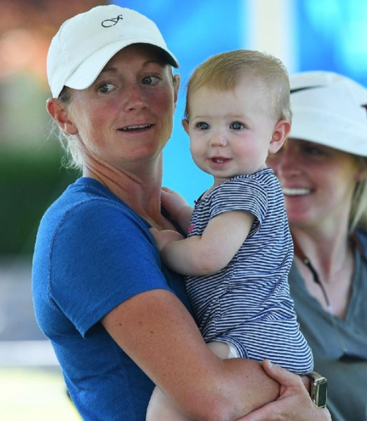 Stacy Lewis child