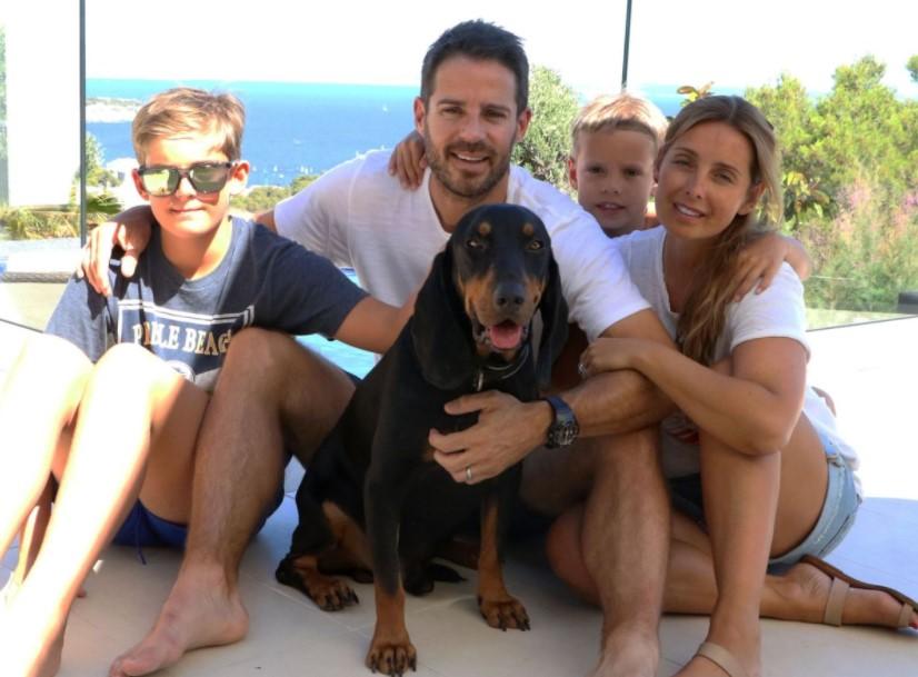 Jamie Redknapp family
