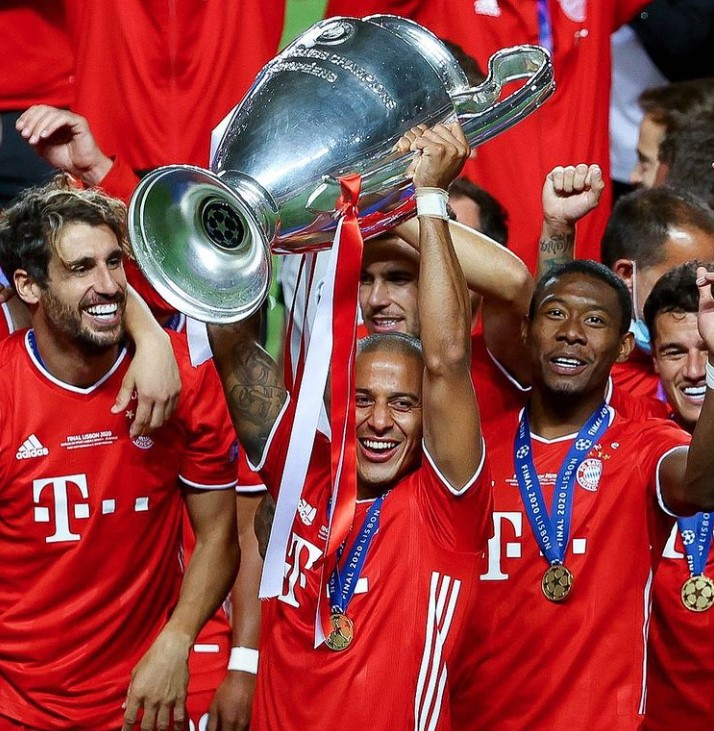 Thiago Alcantara champions league