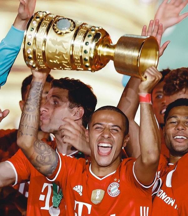 Thiago Alcantara DFB Pokal