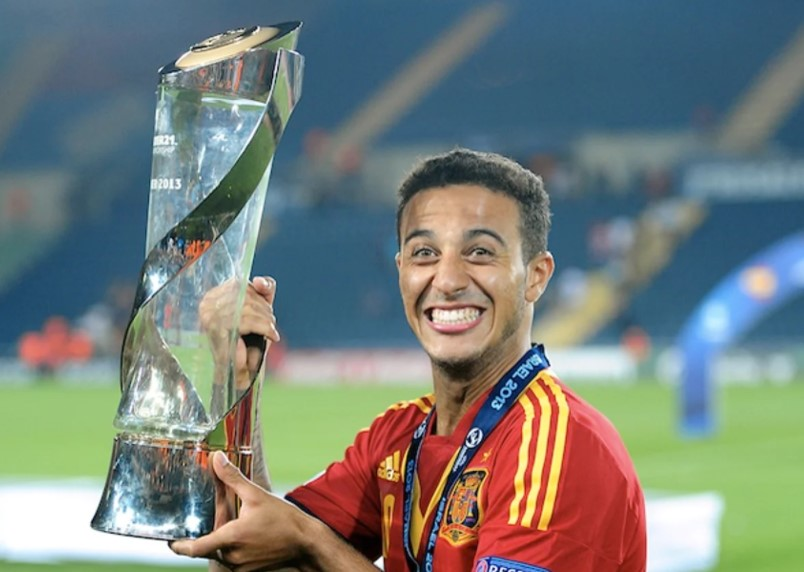 Thiago Alcantara Spain U21 Spain