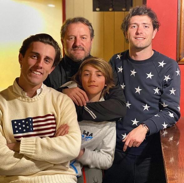 Alvaro Odriozola family