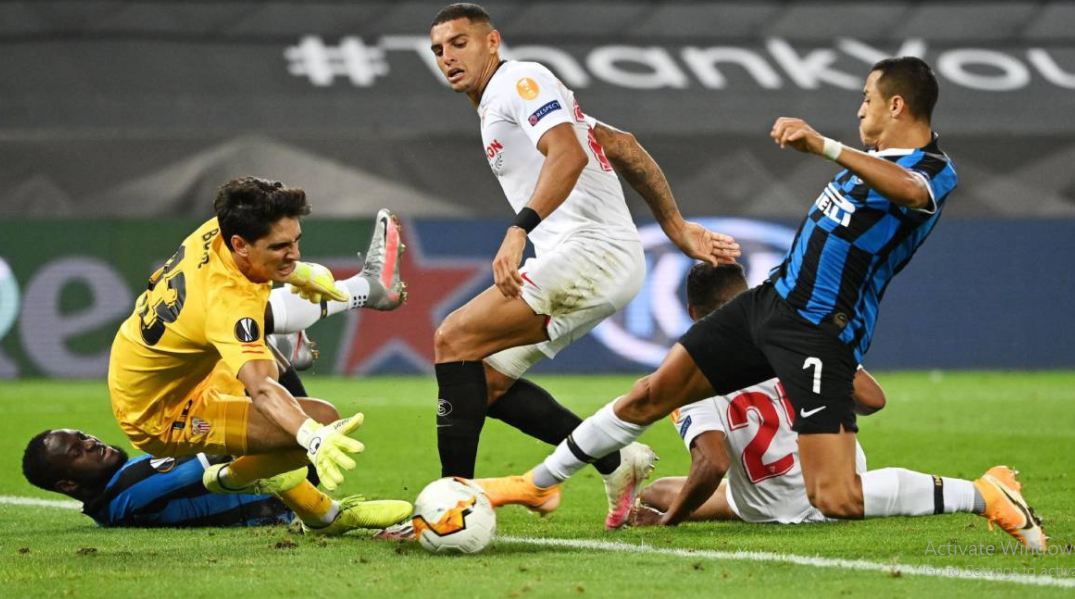 Yassine Bounou Help Sevilla Win 2019-2020 Europa League