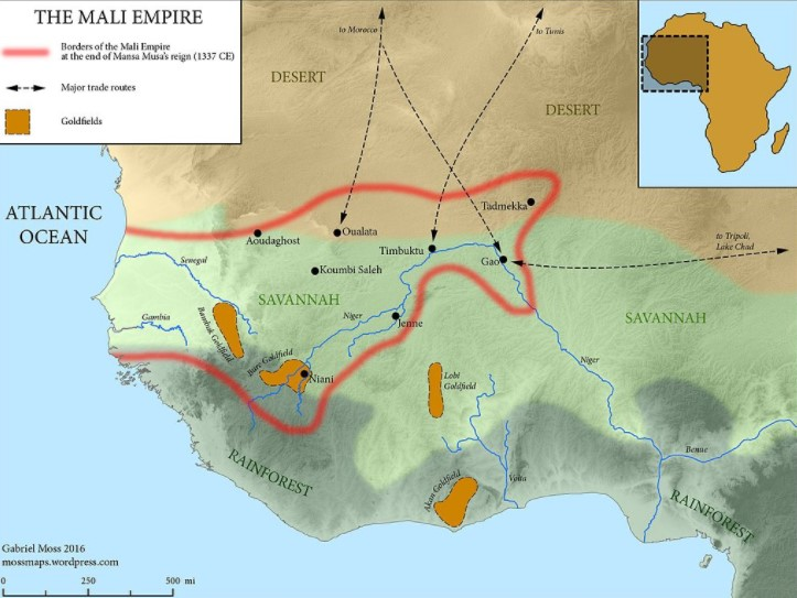 Mansa Musa Mali Empire Region