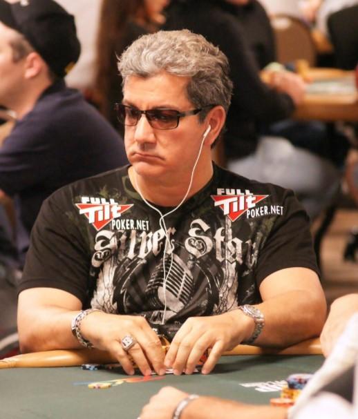 Bruce Buffer poker