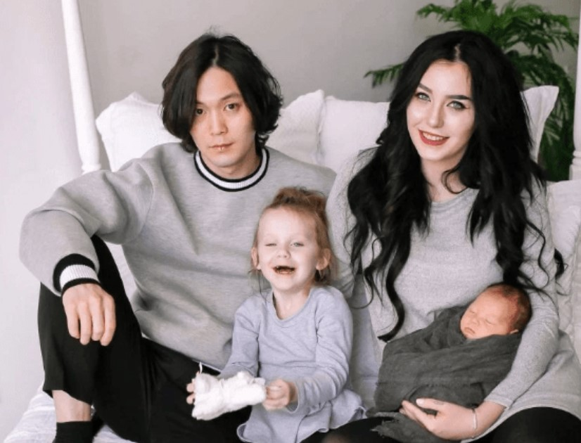 Topher Park family