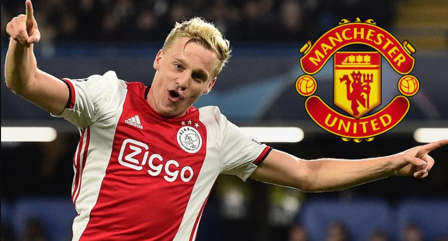 Manchester United signed Donny van de Beek from Ajax