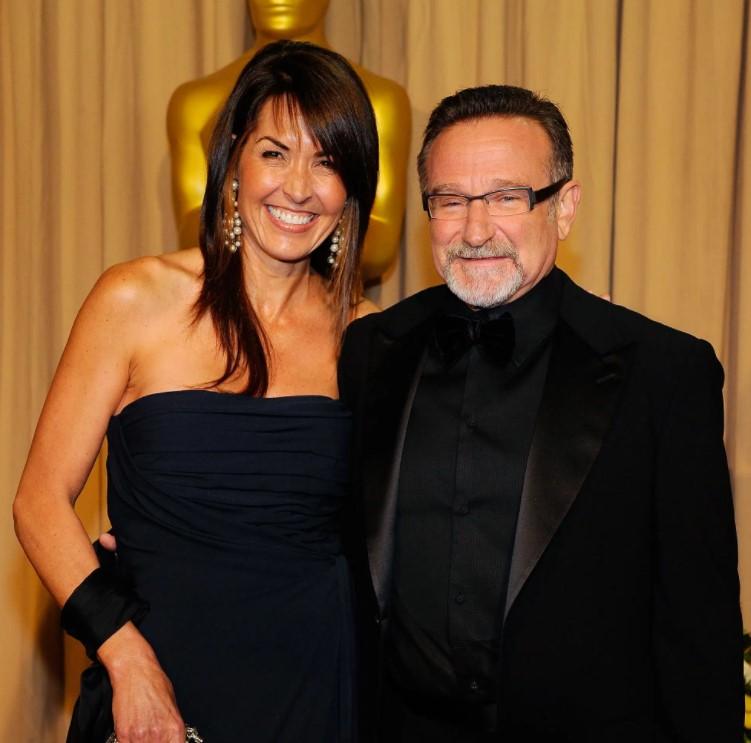 Robin Williams Susan Schneider