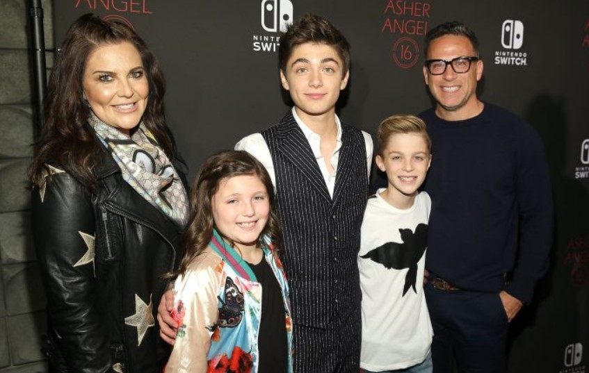 Asher Angel family