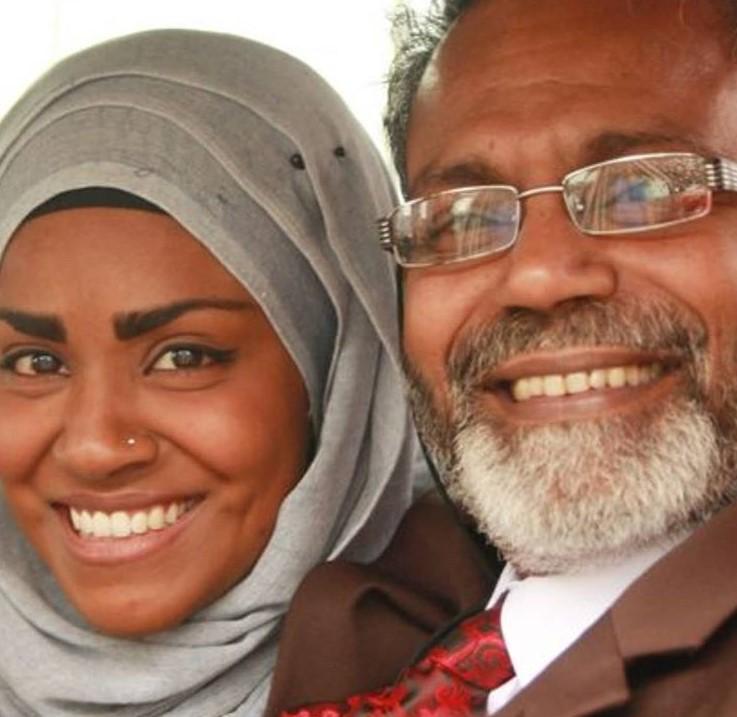 Nadiya Hussain father