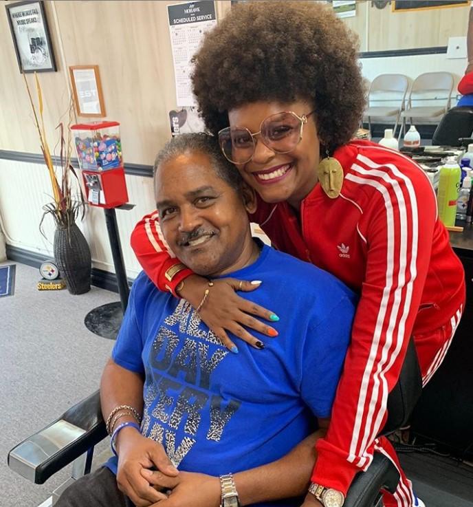 Tabitha Brown father