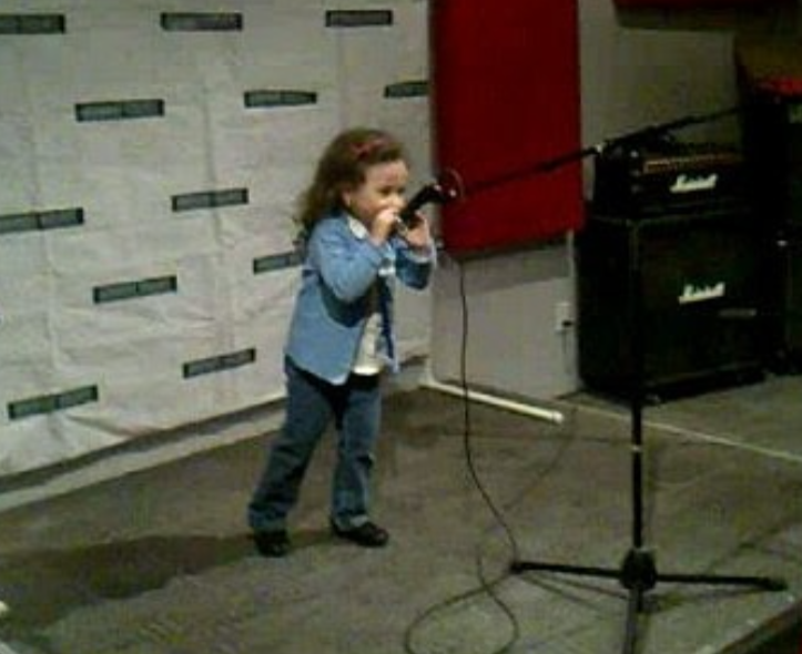 Roberta Battaglia First Singing Audition