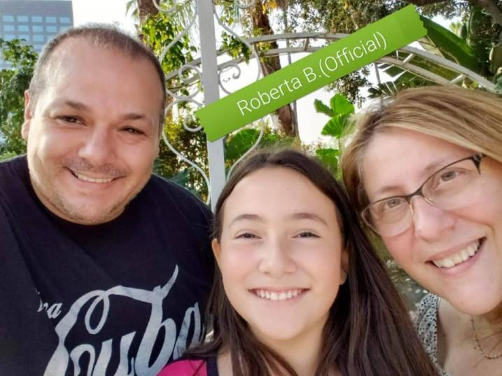 Roberta Battaglia parents