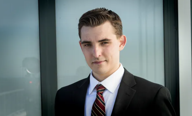Jacob Wohl, a far-right conspiracy theorist, fraudster, and internet troll