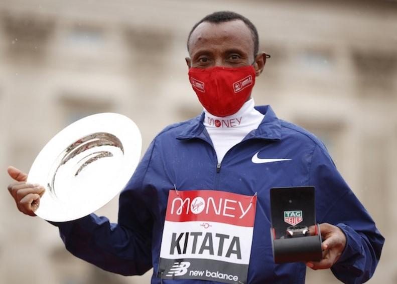 Shura Kitata 2020 London Marathon