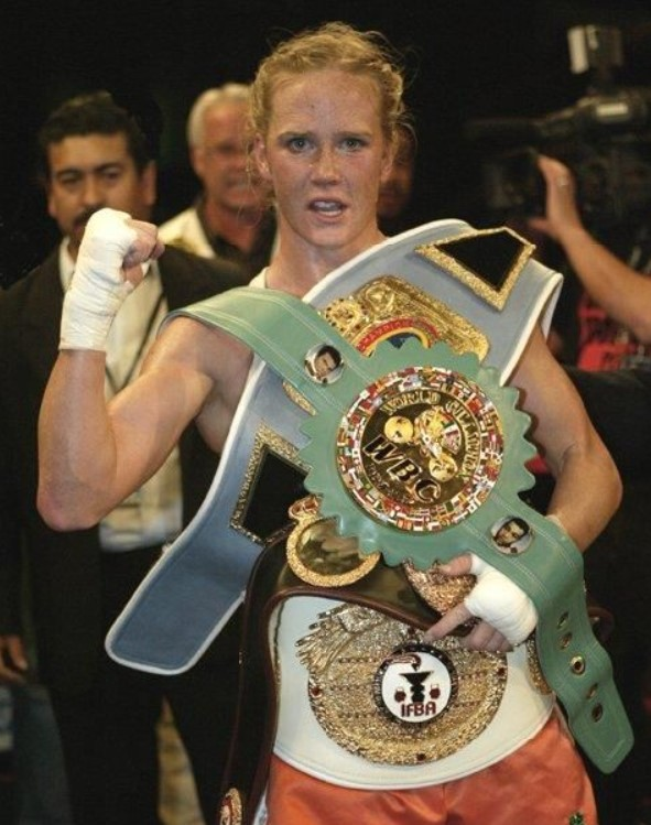 Holly Holm titles