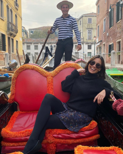 Melanie Sykes and her new Italian boyfriend, Riccardo Simionato