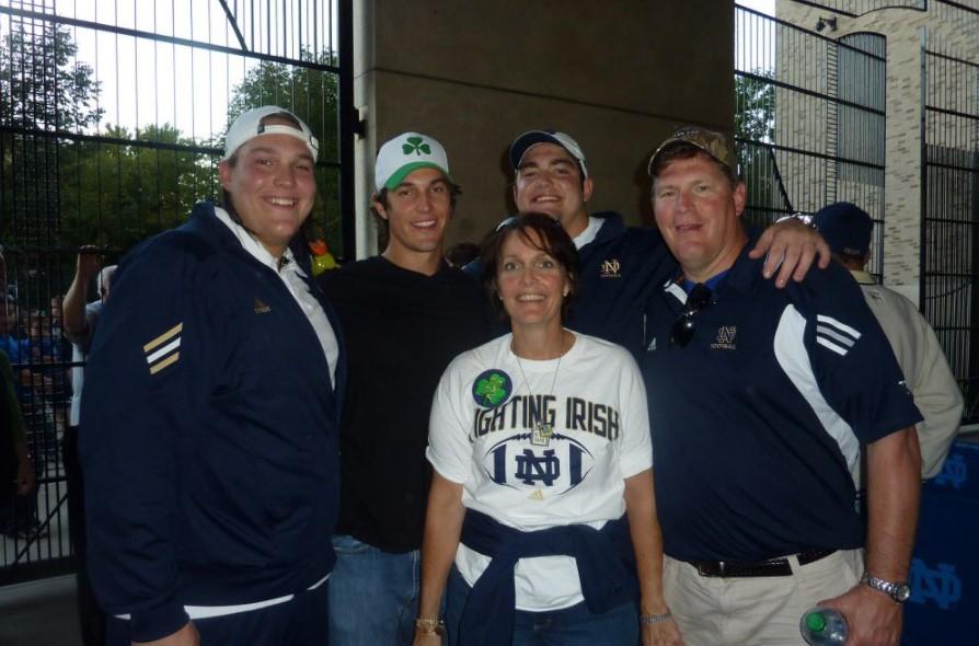 Zack Martin family