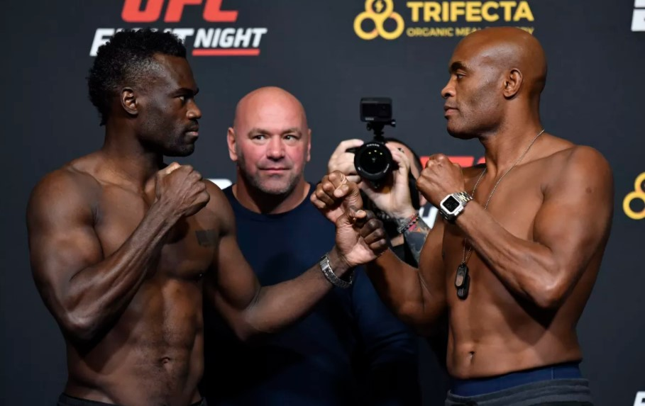 Uriah Hall fight