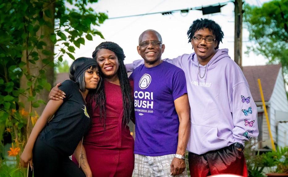 Cori Bush family