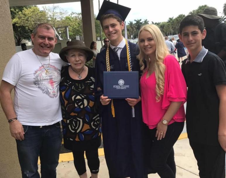 Svetlana Parnas Family