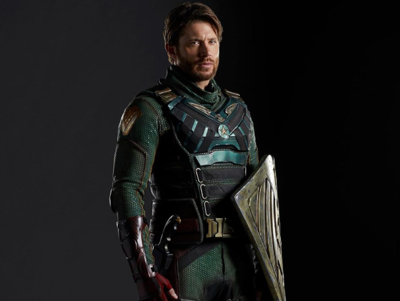 Jensen Ackles suits up as soldier boy in 'The Boys' Season 3