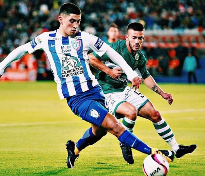 Victor Guzman, a professional footballer