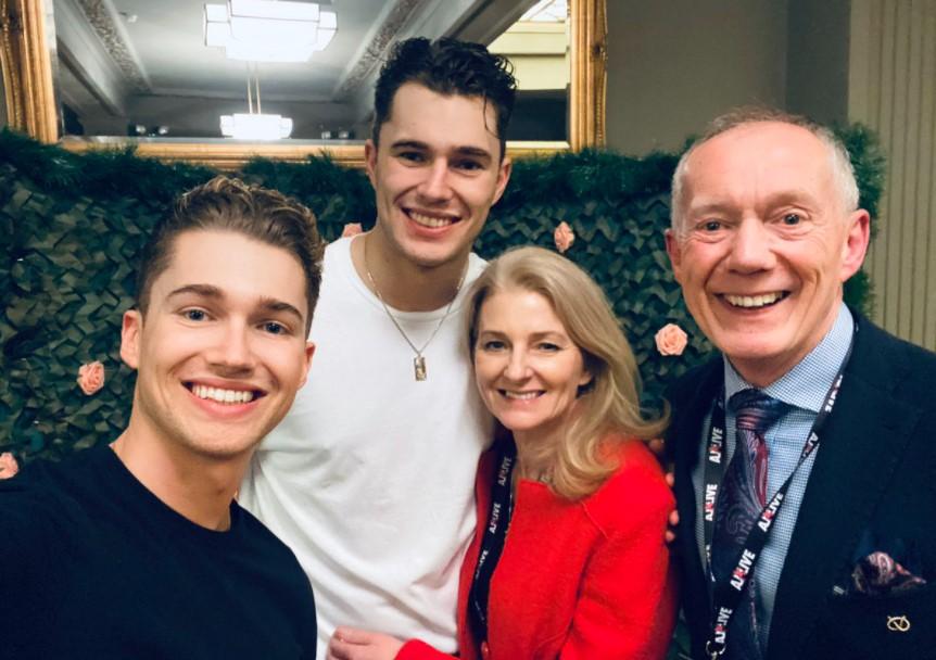 AJ Pritchard family